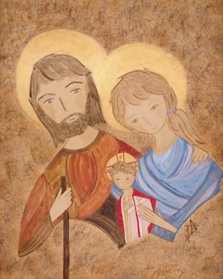 Saint Joseph en Egypte
