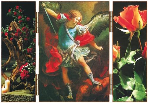 Saint Michel Archange luttant contre Satan