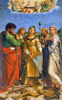 L'extase de sainte Cécile