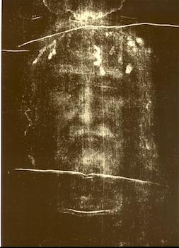 Visage du saint Suaire de Turin