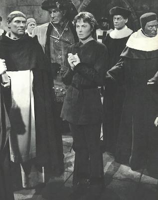 Sainte jeanne d'Arc et Cauchon