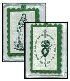 Le scapulaire vert