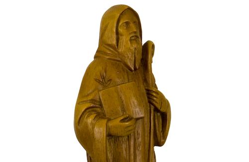 Statuette de saint Benoît
