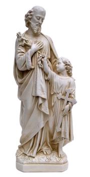 Joseph et Jésus enfant