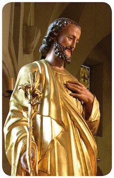 Saint Joseph au Lys