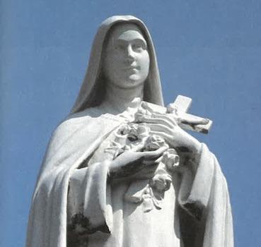 Statue  de Sainte Thérèse de l'Enfant-Jésus