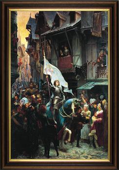 Entrée de sainte Jeanne d'Arc à Orléans