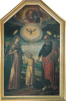 Tableau de la sainte Famille de Kalisz