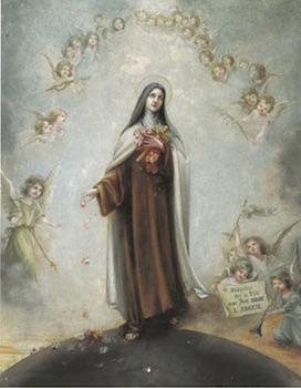 Sainte Thérèse de l'Enfant-Jésus, Bannière de canonisation