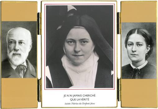 Sainte Thérèse de l'Enfant-Jésus et ses parents