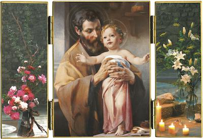 Triptyque de saint Joseph