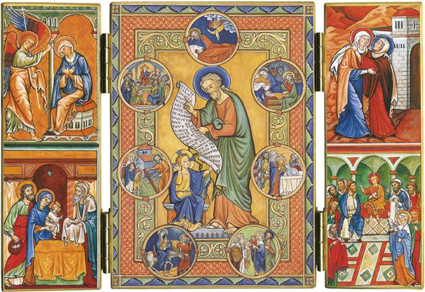 Triptyque de saint Joseph : les sept douleurs et allégresses