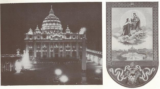 Vatican le jour de la canonisation de ste Thérèse