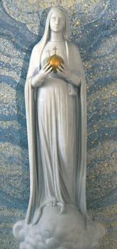 Vierge Miraculeuse au globe
