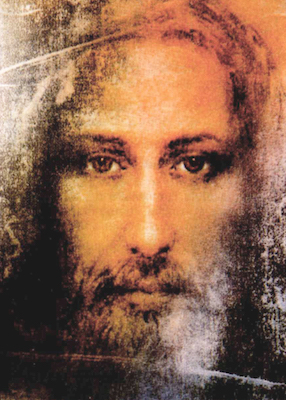 Visage de Jésus d'après le Saint-Suaire