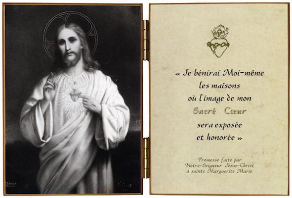 Visage de Jésus - tabernacle au Mexique