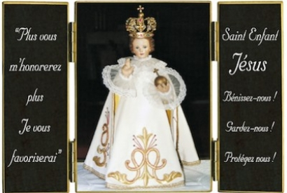 L'Enfant Jésus de Prague en France